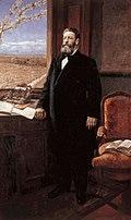 Retrato de Joaquín Costa de 1913