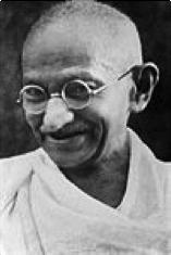 Mahatma Gandhi en 1942